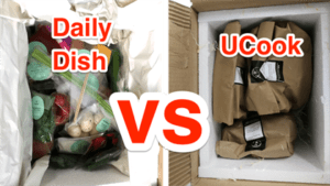 Daily Dish vs UCook