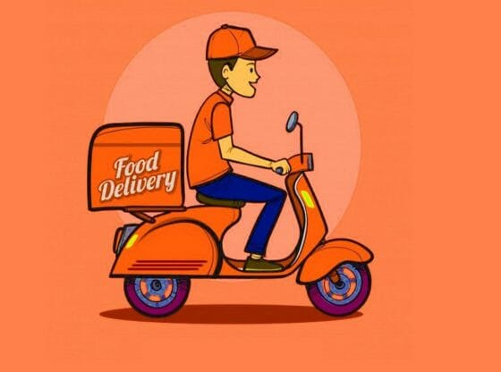 Food delivery startup